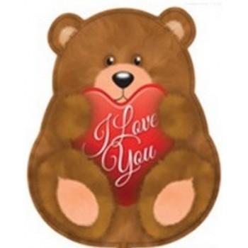 Palloncino Mylar 45 cm. I Love You Bear
