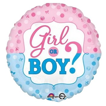Palloncino Mylar 45 cm. Gender - Reveals