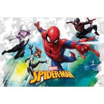 Coordinato Spider-Man - Tovaglia Plastica 120x180 cm.