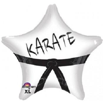 Palloncino Mylar 45 cm. Karate Star