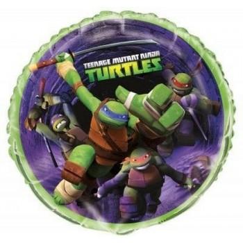 Palloncino Mylar 45 cm. Ninja Turtles Teenage Mutant