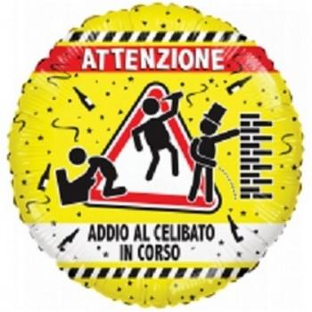 Palloncino Mylar Lettera E Micro - 17 cm. Argento