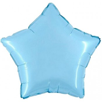 Palloncino Mylar 45 cm. Stella Azzurra