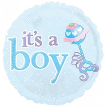 Palloncino Mylar 45 cm. Boy - It's a Boy