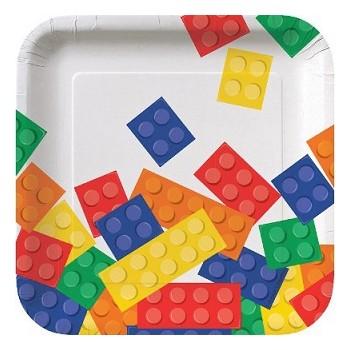 Coordinato Lego - Piatto Carta 18 cm. - 8 pz.