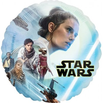 Palloncino Mylar 45 cm. Star Wars Episode Rise of Skywalker