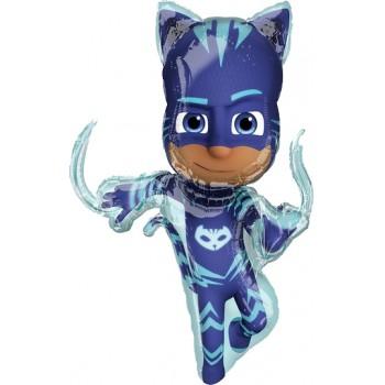 Palloncino Mylar Super Shape 93 cm. Super Pigiamini - PJ Masks Catboy