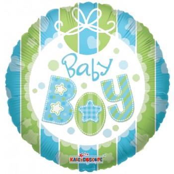 Palloncino Mylar 45 cm. Boy - Baby Boy Bib