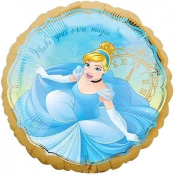 Palloncino Mylar 45 cm. Cinderella Once Upon A Time