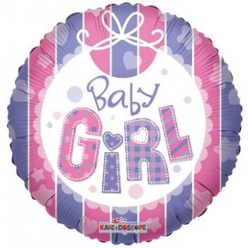 Palloncino Mylar 45 cm. Girl - Baby Girl Bib