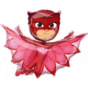 Palloncino Mylar Super Shape 93 cm. Super Pigiamini - PJ Masks Owlette