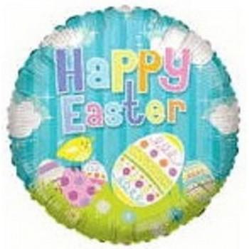 Palloncino Mylar 45 cm. Easter Eggs
