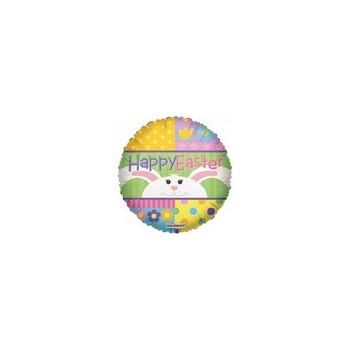 Palloncino Mylar Micro 10 cm. Easter Peek-A-Boo Bunny