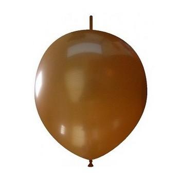Palloncino in Lattice Link 32 cm. Marrone