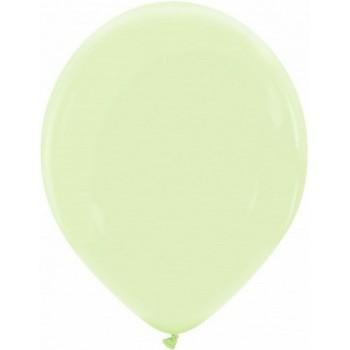 Palloncino in Lattice Rotondo 30 cm. Verde The