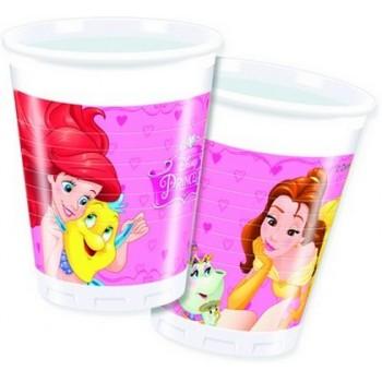 Coordinato Principesse - Bicchiere Carta 200 ml. - 8 pz.