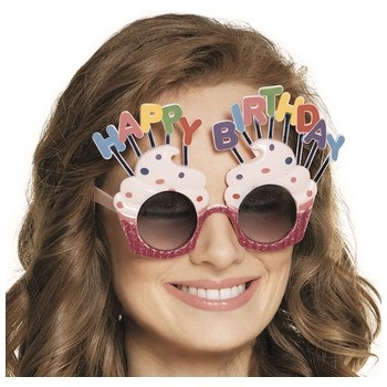 Occhiali Happy Birthday