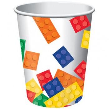 Coordinato Lego - Bicchiere Carta 266 ml. - 8 pz.