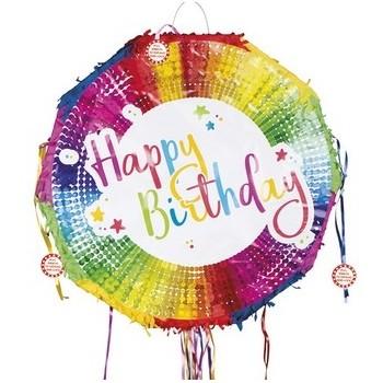 Pignatta Pull Happy Birthday 44 x 44 cm