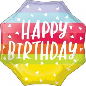 Palloncino Mylar Jumbo 55 cm. Bright and Bold Birthday