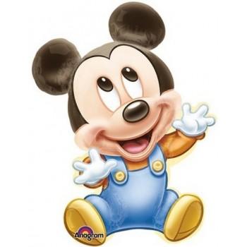 Palloncino Mylar Super Shape 84 cm. Baby Mickey