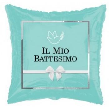 Palloncino Mylar Numero 8 Micro - color Fucsia - 17 cm.
