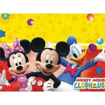 Coordinato Mickey Mouse Clubhouse - Tovaglia Plastica 120x180 cm.