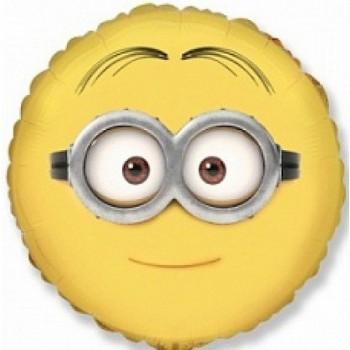 Palloncino Mylar 45 cm. Despicable Me Minions Dave Face