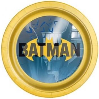 Coordinato Batman - Piatto Carta 18 cm. - 8 pz.