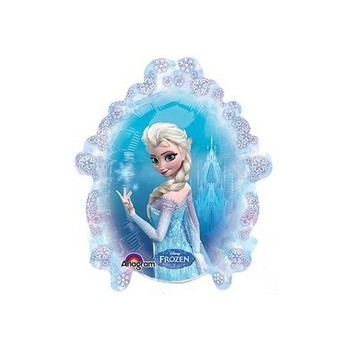 Palloncino Mylar Mini Shape Frozen Only - 35 cm.