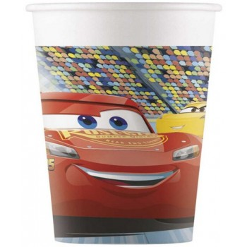 Coordinato Cars 3 - Bicchiere Carta 200 ml. - 8 pz.