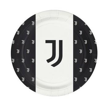 Coordinato Juventus - Piatto Carta 18 cm.- 8 pz.