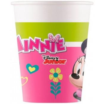 Coordinato Minnie Happy Helpers - Bicchiere Carta 200 ml. - 8 pz.