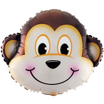 Palloncino Mylar Super Shape 62,5 cm. Scimmia