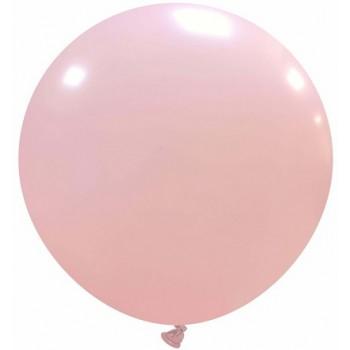 Palloncino in Lattice Rotondo 80 cm. Rosa Confetto - Round