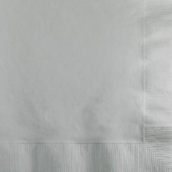 Coordinato Argento - Tovagliolo 2 veli 33x33 cm. - 20 Pz.
