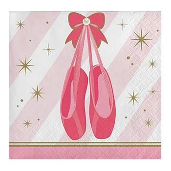 Coordinato Ballerina Twinlke Toes - Tovagliolo 25X25 cm. - 16 pz.