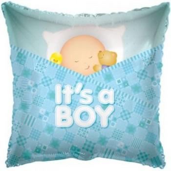 Palloncino Mylar 45 cm. Boy - Baby Sleeping