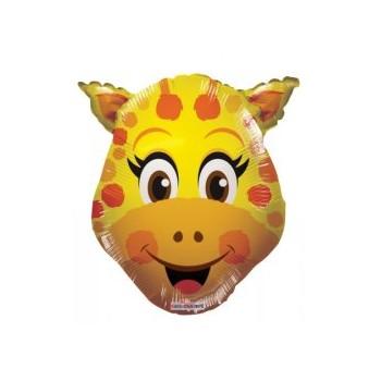Palloncino Mylar Mini Shape 35 cm. Giraffe Head