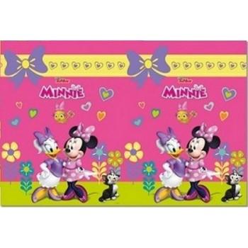 Coordinato Minnie - Tovaglia Plastica 120x180 cm.