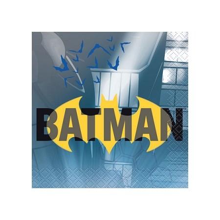 Coordinato Batman - Tovagliolo 25 x 25 cm. - 20 pz.
