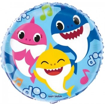 Palloncino Mylar 45 cm. Pinkfong Baby Shark