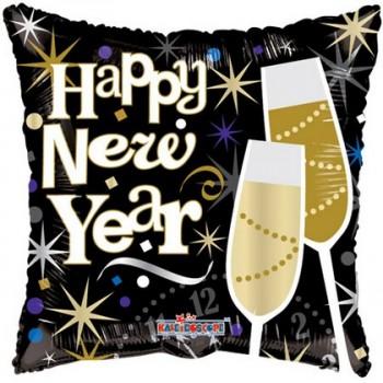 Palloncino Mylar 45 cm. Celebrating New Year