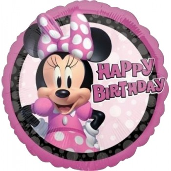 Palloncino Mylar 45 cm. Minnie Mouse Forever Birthday