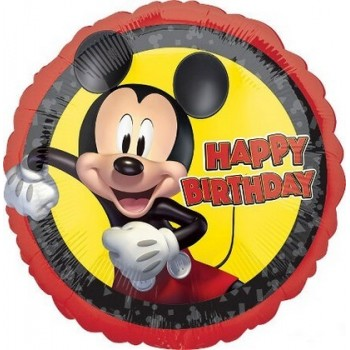 Palloncino Mylar 45 cm. Mickey Mouse Forever Birthday
