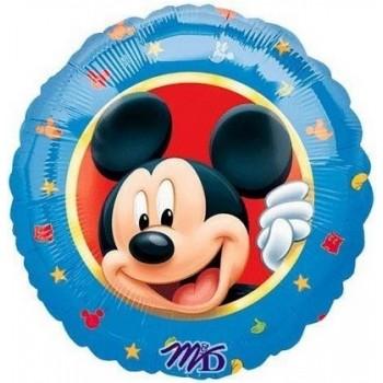 Palloncino Mylar 45 cm. Mickey Mouse Portrait Border