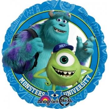 Palloncino Mylar 45 cm. Monster University Mikey & Sully