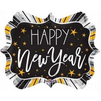 Palloncino Mylar 45 cm. New Year Marquee