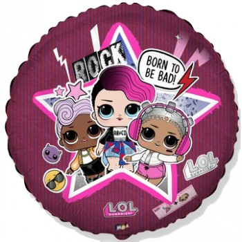 Palloncino Mylar Mini Shape 23 cm. Red Star