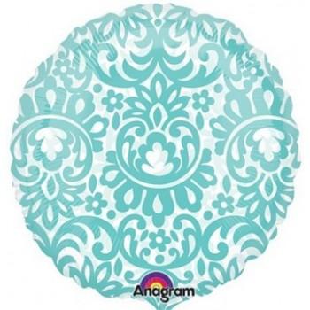 Palloncino Mylar 45 cm. See Through Robin's Egg Tapestry